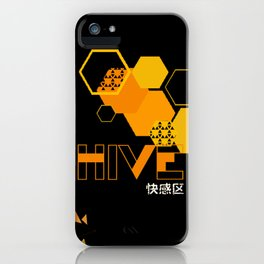 deus ex human evolution hive iPhone Case