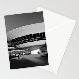 MAC Niterói | Oscar Niemeyer architect Stationery Cards