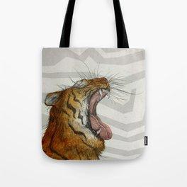 Liger / Fire Tote Bag