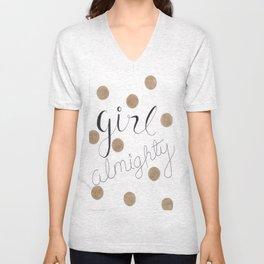 Girl Almighty Unisex V-Neck