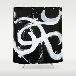 All Night Long Shower Curtain