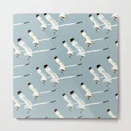 Seagull clones Metal Print