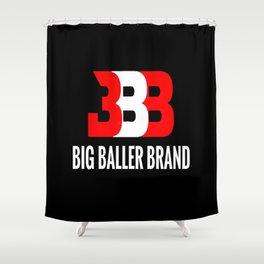 big baller brand Shower Curtain