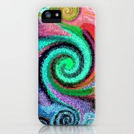 Sticky Love Mosaic iPhone Case
