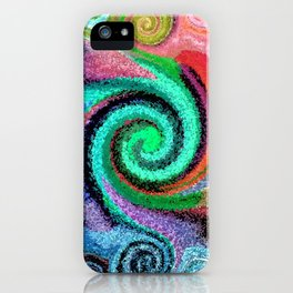 Sticky Love Mosaic iPhone Case