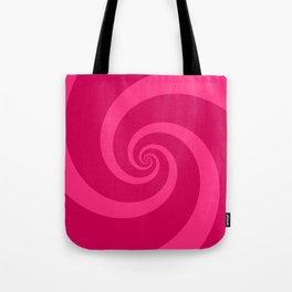 pink vortex Tote Bag