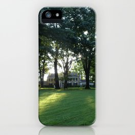 Graceland in the morning iPhone Case