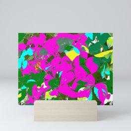 Colorful Leaves Mini Art Print