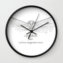 Read a Book Wall Clock