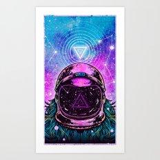 AstroNort Art Print
