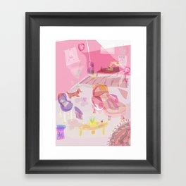 office space Framed Art Print