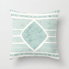Tribal Textile Pattern Throw Pillow
