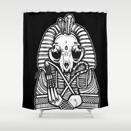 Tutancatmun Shower Curtain