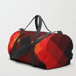 Abstract Retro Pattern 17 Duffle Bag