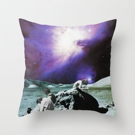 The Wall I Throw Pillow