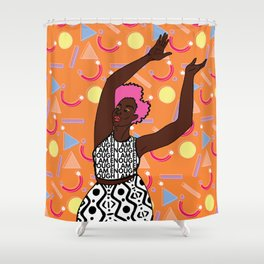 Ireti Shower Curtain