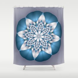 joy and energy -10- Shower Curtain
