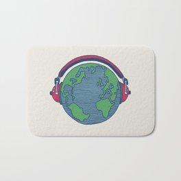 World Music Bath Mat