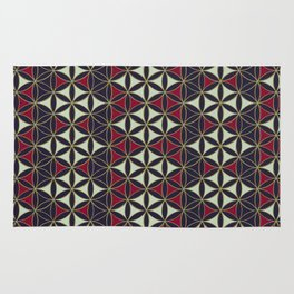 Flower of Life Pattern 7 Rug
