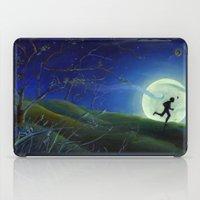 finn iPad Cases featuring Huckleberry Finn by Dana Martin