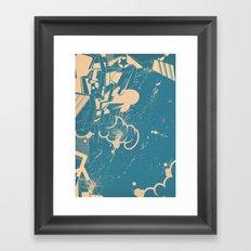 Meet your maker Framed Art Print