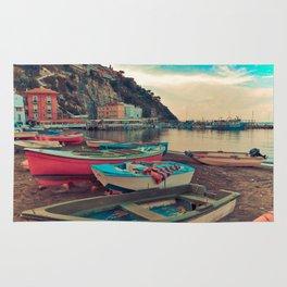 Boats of Sorrento Rug