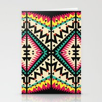 tribal Stationery Cards featuring Tribal by Ornaart