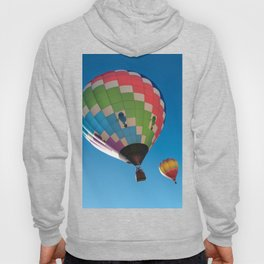Balloons on Blue Hoody