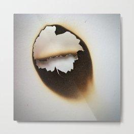 Death/Light Metal Print