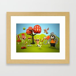 The Gathering Framed Art Print