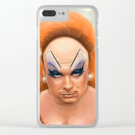 Love Divine Clear iPhone Case