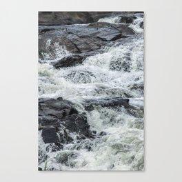Waterfall texture Canvas Print