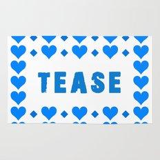 Tease - blue Rug