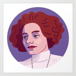 Queer Portrait - Zinaida Gippius Art Print