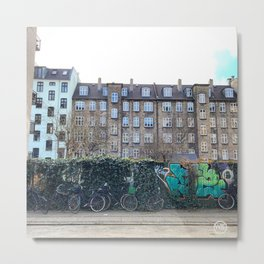 Homes, Vesterbro, Copenhagen Metal Print