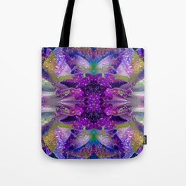 Tropical Hues in Dew Tote Bag