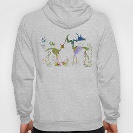 Deer Skeletons Hoody