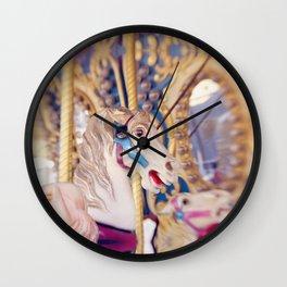Carousel Horse Wall Clock