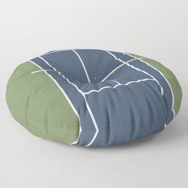 Tennis Court | Match Point  Floor Pillow