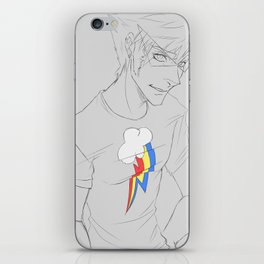 Rainbow Guy iPhone Skin