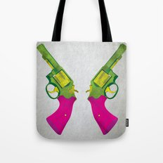 Play Guns Tote Bag