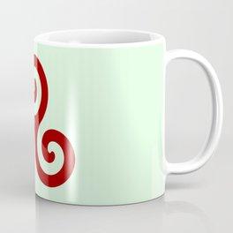 Triskele 11 -triskelion,triquètre,triscèle,spiral,celtic,Trisquelión,rotational Coffee Mug