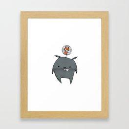 minima - rawr 01 Framed Art Print