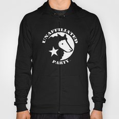 UNAFFILIATED PARTY STENCIL Hoody