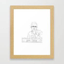 ...you know ;) Framed Art Print