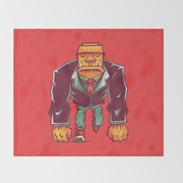 Winston Bricks Throw Blanket