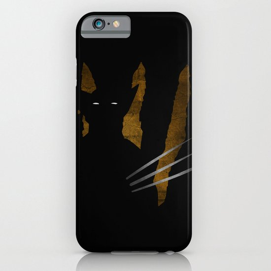 SuperHeroes Shadows : Wolverine iPhone & iPod Case
