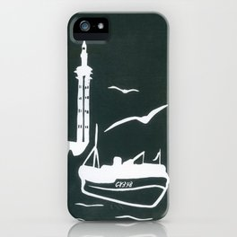 Home in Grey iPhone Case