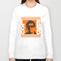 lou reed Long Sleeve T-shirts featuring Lou Reed by Silvio Ledbetter