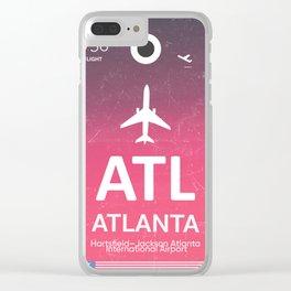 ATL Hartsfield–Jackson Atlanta International Airport Clear iPhone Case